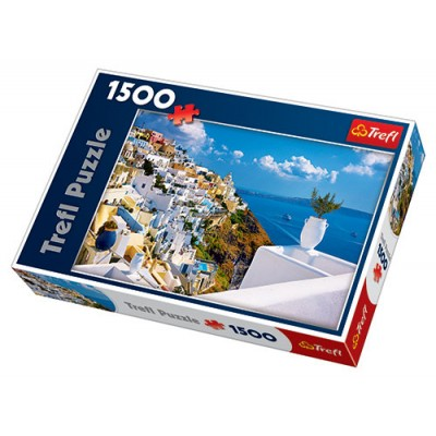 Trefl - 1500 Piece Puzzle Santorini Greece
