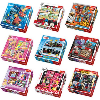 Trefl - 4 In 1 (35+45+54+70) Piece Puzzle Assorted