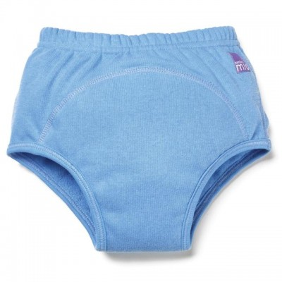 Bambino Mio Train Pants 18-24M Light Blue