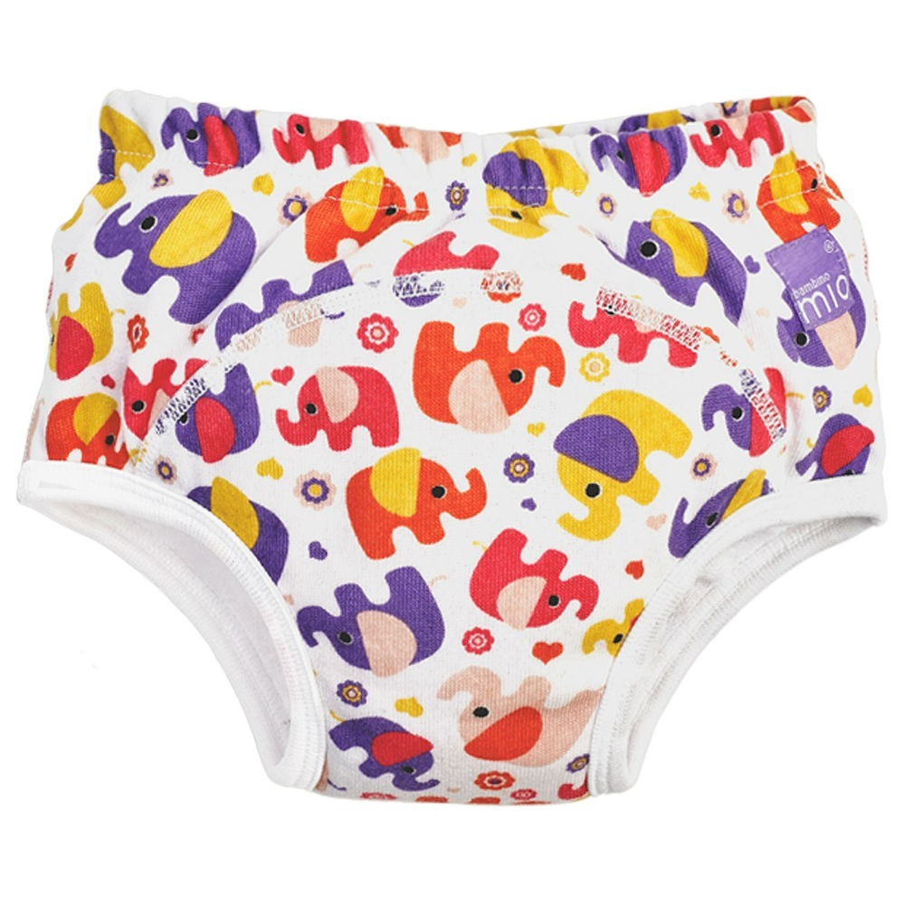 Bambino Mio Train Pants 18-24M P/Elephant