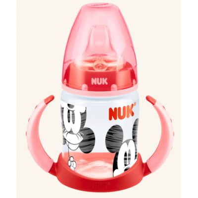 Nuk Mickey First Choice 150Ml Learner Bottle Nss Red