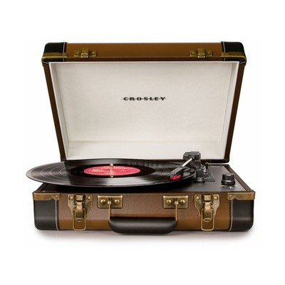 Crosley Executive Brown Turntable