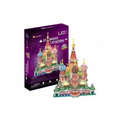 Cubic Fun St. Basil'S Cathedral (Russia) 224Pieces