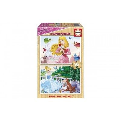 Educa Disney Princesses (2X16Piece)