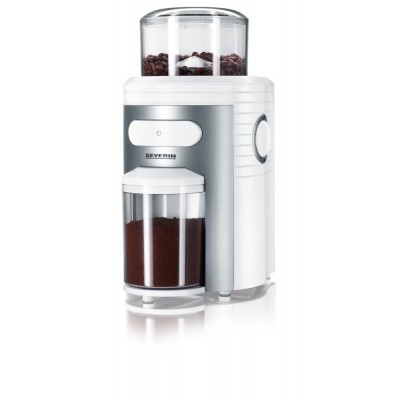 Severin Coffee Grinder - White/Silver