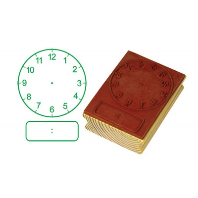TFC - Stamp Clock Digital/Analogue Hours (50Mm) 1P