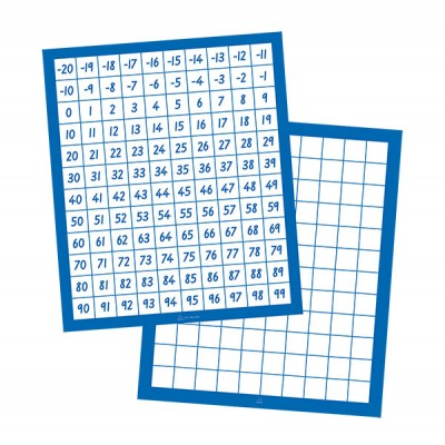 TFC - Number Boards  - 20  -  99 Horizontal 10P