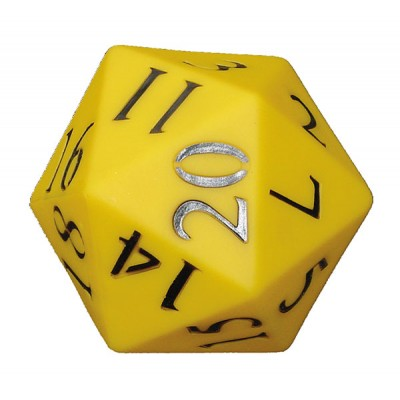 TFC - Dice 110Mm 20 Face Number Pvc 1P