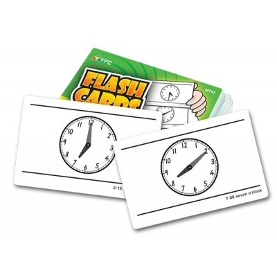 TFC - Flash Cards  -  Telling Time 55P