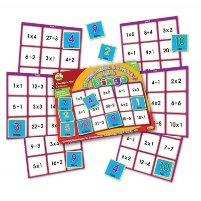 TFC - Bingo Multiplication & Division Match 61P