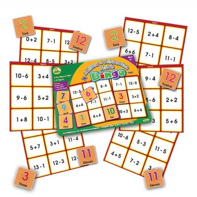 TFC - Bingo Addition & Subtraction Match 61P
