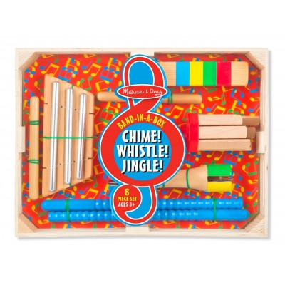 Melissa & Doug Chime! Whistle! Jingle!