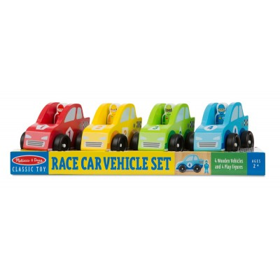 Melissa & Doug Race Car Vehicle Set