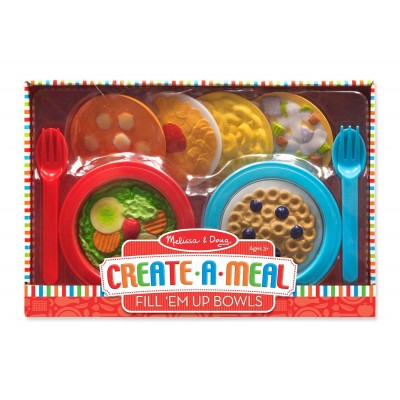 Melissa & Doug Create-A-Meal Fill 'Em Bowls