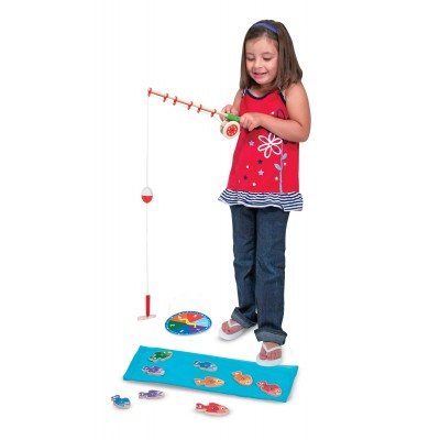 Melissa & Doug Catch & Create Fishing Game