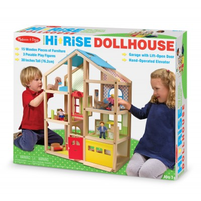 Melissa & Doug Hi-Rise Dolls House