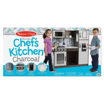 Melissa & Doug Chefs Kitchen Charcoal