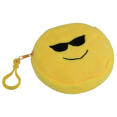 Emoji Purse - Glasses Yellow