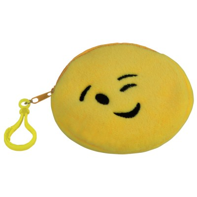Emoji Purse - Wink Yellow