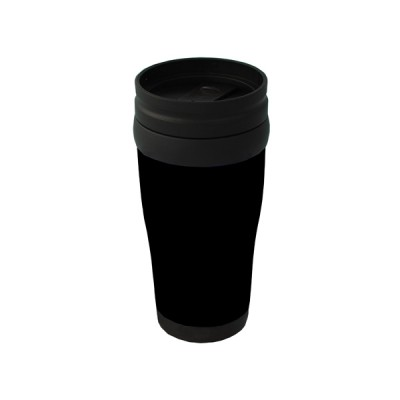 Plastic Carry Mug Black