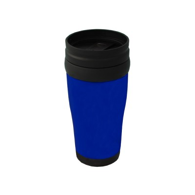 Plastic Carry Mug Blue