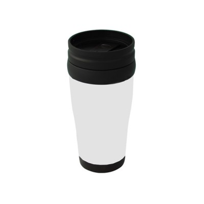 Plastic Carry Mug White