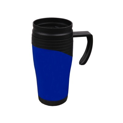 Plastic Travel Mug Blue