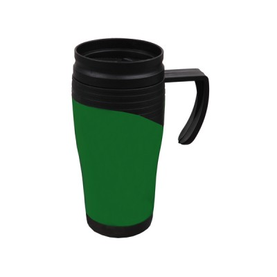 Plastic Travel Mug Green