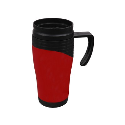 Plastic Travel Mug Red