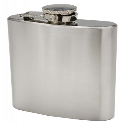 Hip Flask [120Ml] Silver