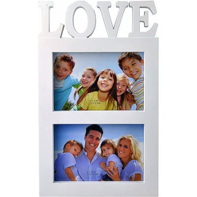 Love Photo Frame White