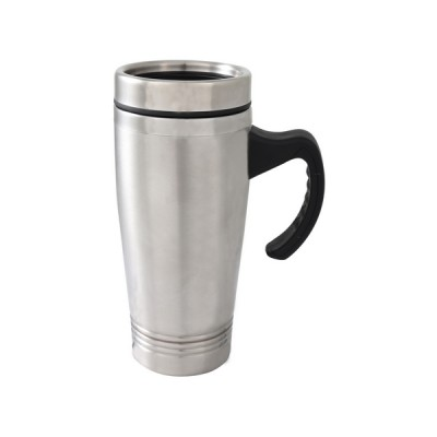 S/S Double Wall Thermal Mug Silver