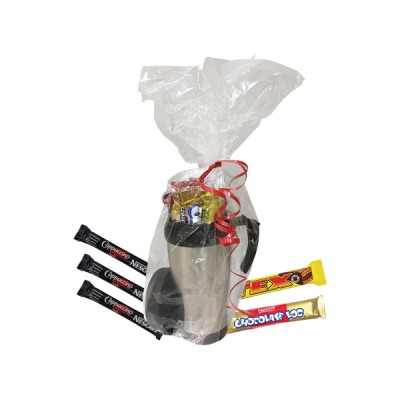Thermal Coffee Hamper Silver