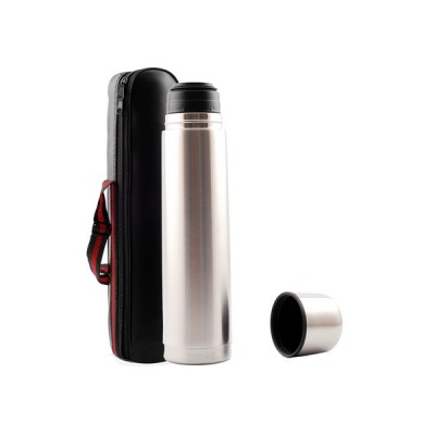 Thermal 1Ltr Flask Silver
