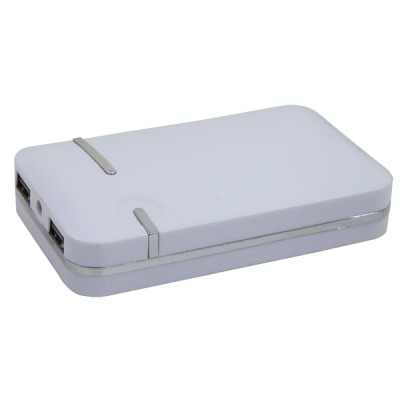 Power Bank 7800Mah White