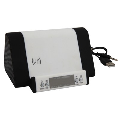 Fm Radio Docking Station White-Black