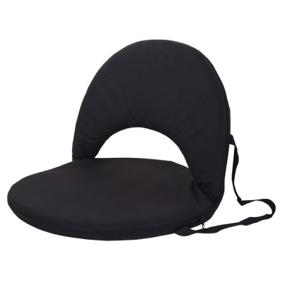 Portable Backrest Chair Black