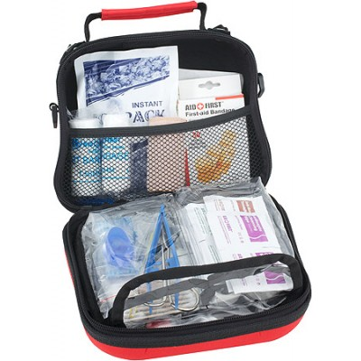Home And Office First Aid Kit Red