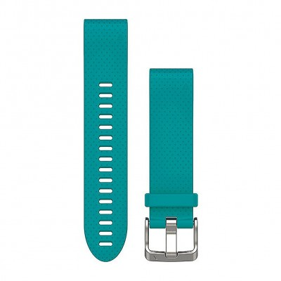 Garmin Quickfit 20Mm Turquoise Silicone Band