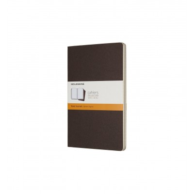 Moleskin Cahier Coffee Brown Large Ruled Journal