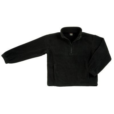 Kiddies Essential Micro Fleece Black Size 13 to 14