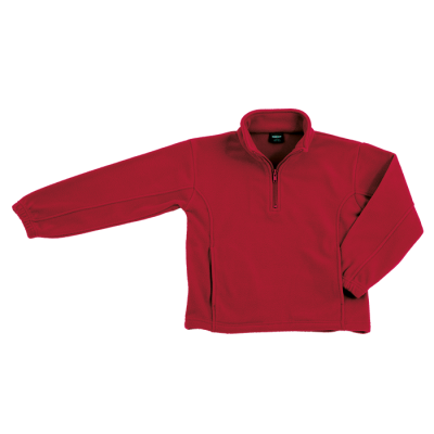 Kiddies Essential Micro Fleece Red Size 7 to 8