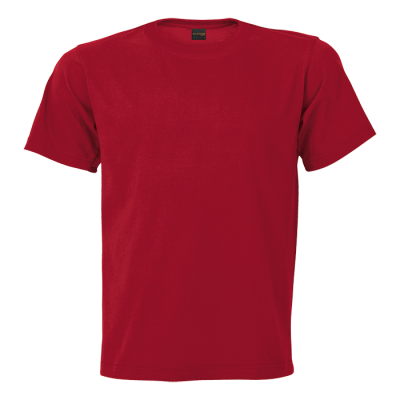 145G Barron Crew Neck T-Shirt Red Size Small