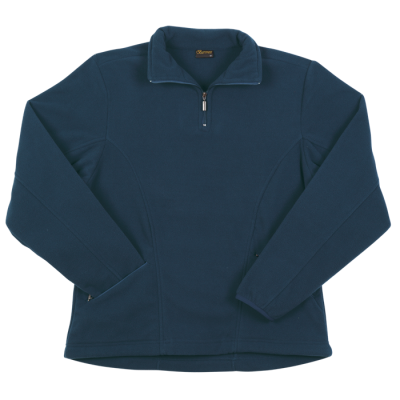 Ladies Essential Micro Fleece Navy Size Large