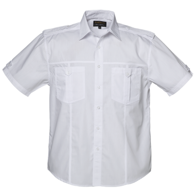 Mens City Shirt White Size 2XL