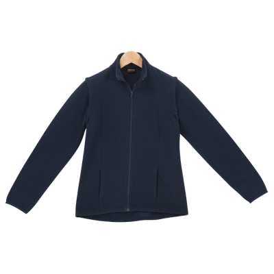 Ladies Ultra Micro Fleece (With Zip Off Sleeves) Navy Size 5XL
