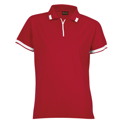 Ladies Matrix Golfer Red/White Size 4XL