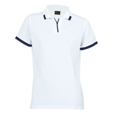 Ladies Matrix Golfer White/Navy Size 4XL