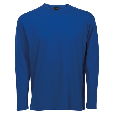 145G Long Sleeve T-Shirt Royal Size 4XL
