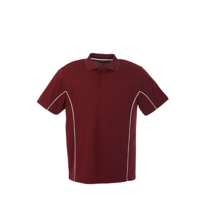 Mens Excel Golfer Maroon/White Size 5XL